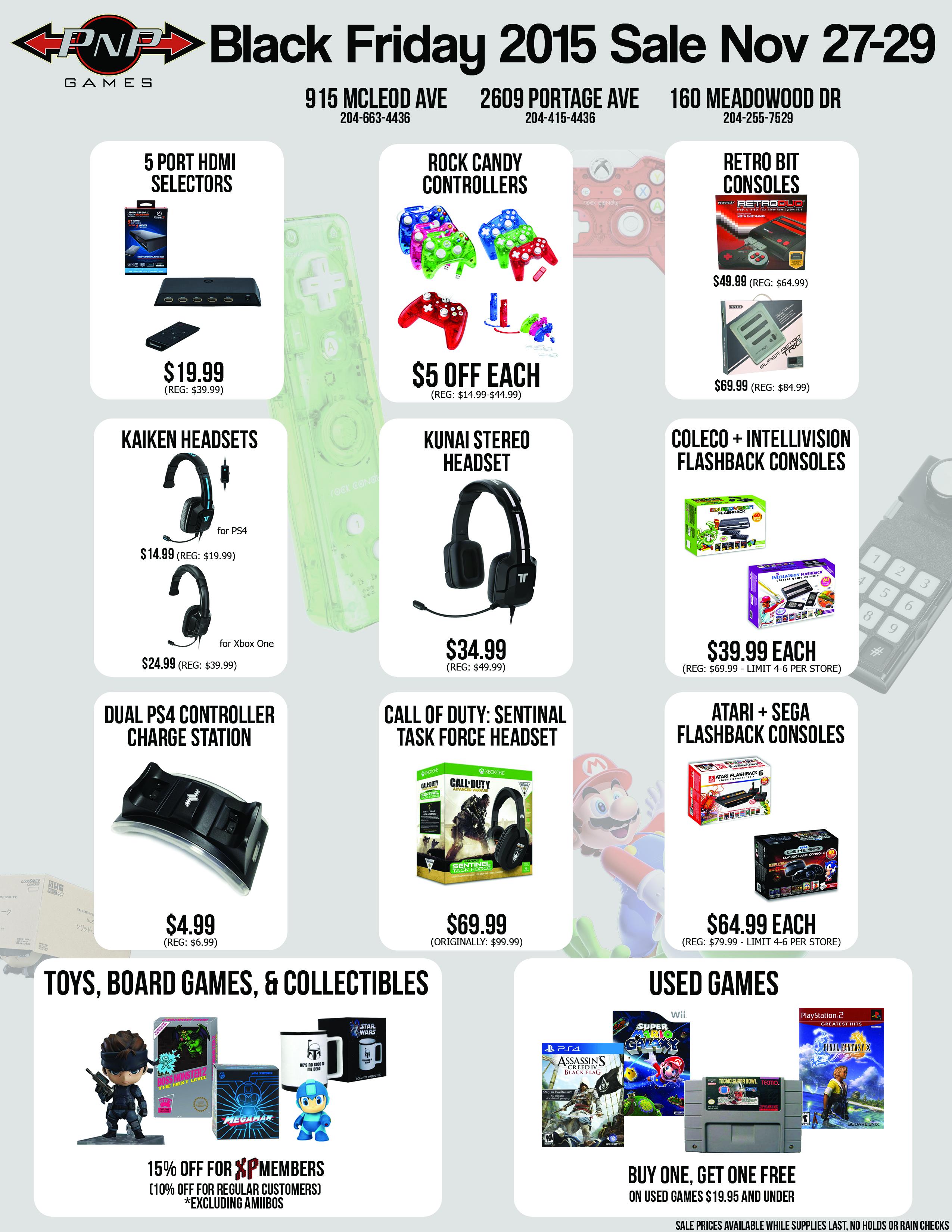Pnp Games Black Friday Sale Nov 27th 29th 2015 Pnp Games