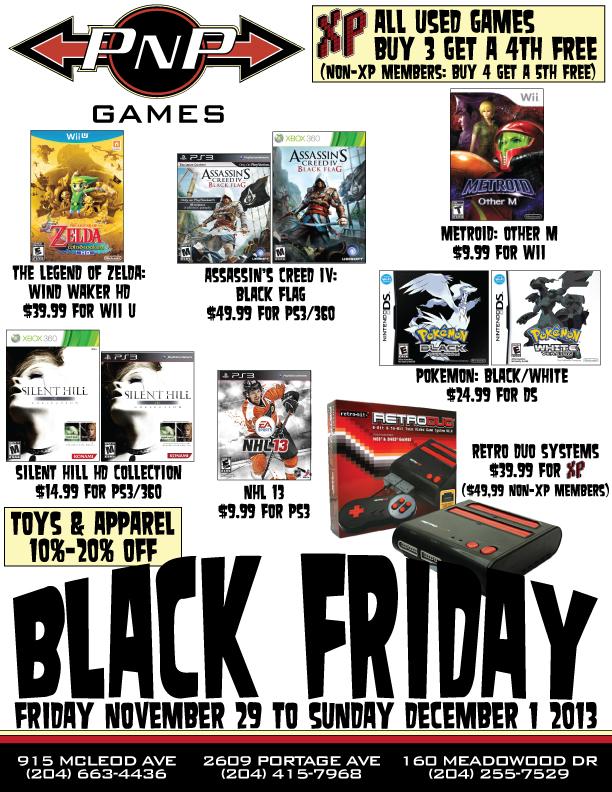 Black Friday Weekend Sale Pnp Games