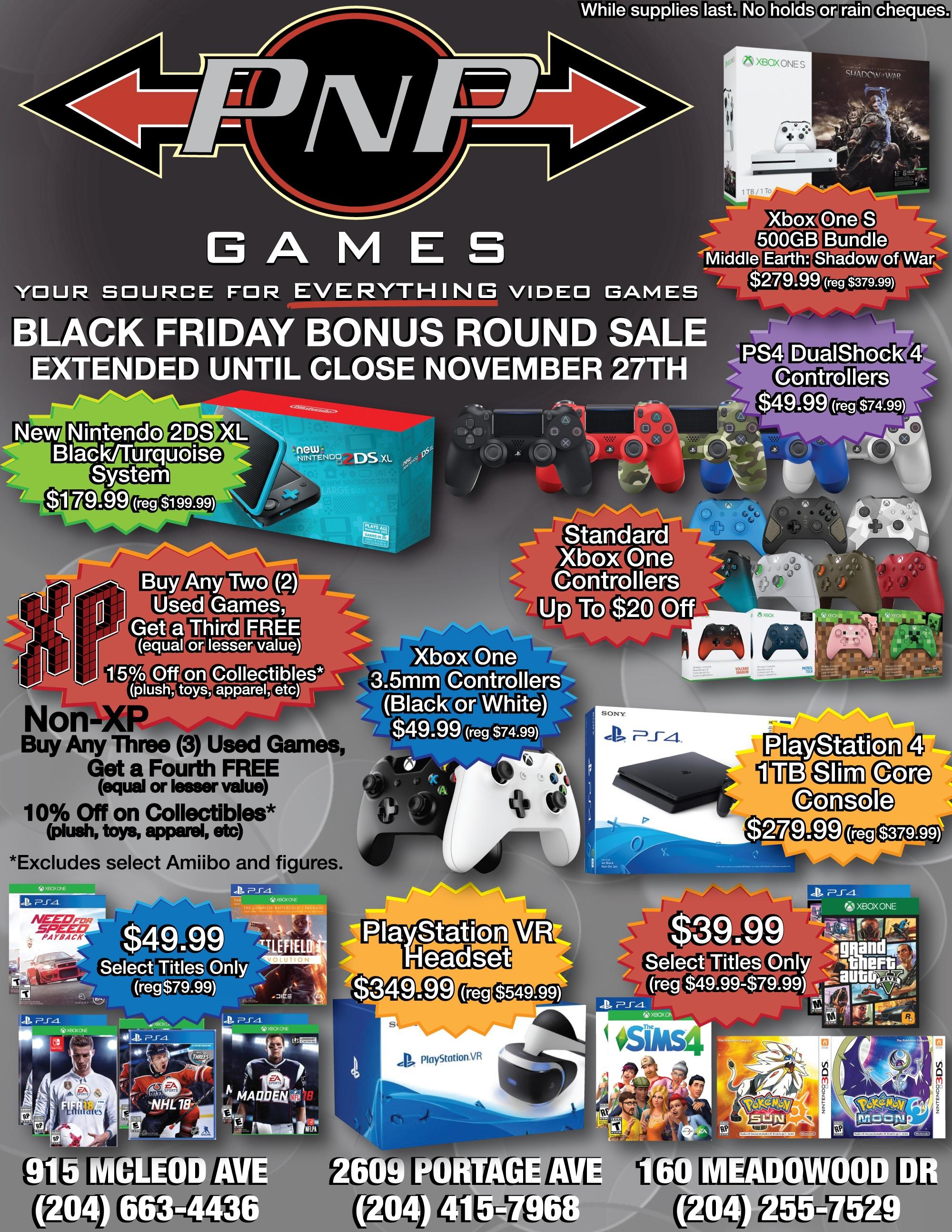Pnp Games Black Friday Bonus Round Sale Pnp Games