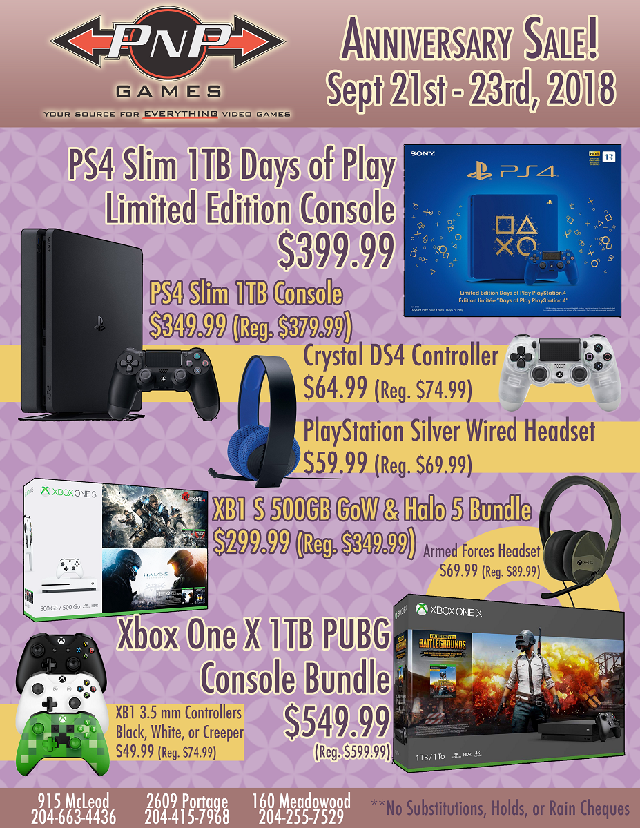 Anniversary Sale Sept 21st 23rd 2018 Pnp Games Ps4 Yakuza Kiwami Steelbook Edition Reg All 1 Expand For More Details